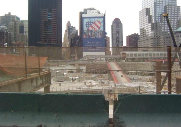 visiting Ground Zero