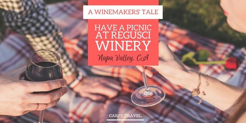 Wine tasting in Napa Valley - Regusci Winery is a must!