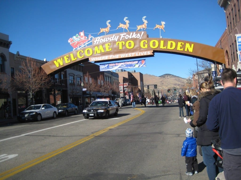 A Golden Holiday: Olde Golden Christmas Parade