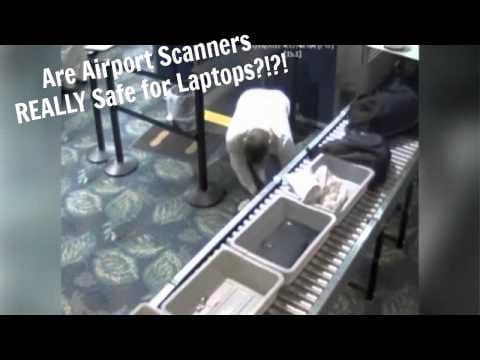 Are Airport X-ray Scans REALLY Safe for Laptops?