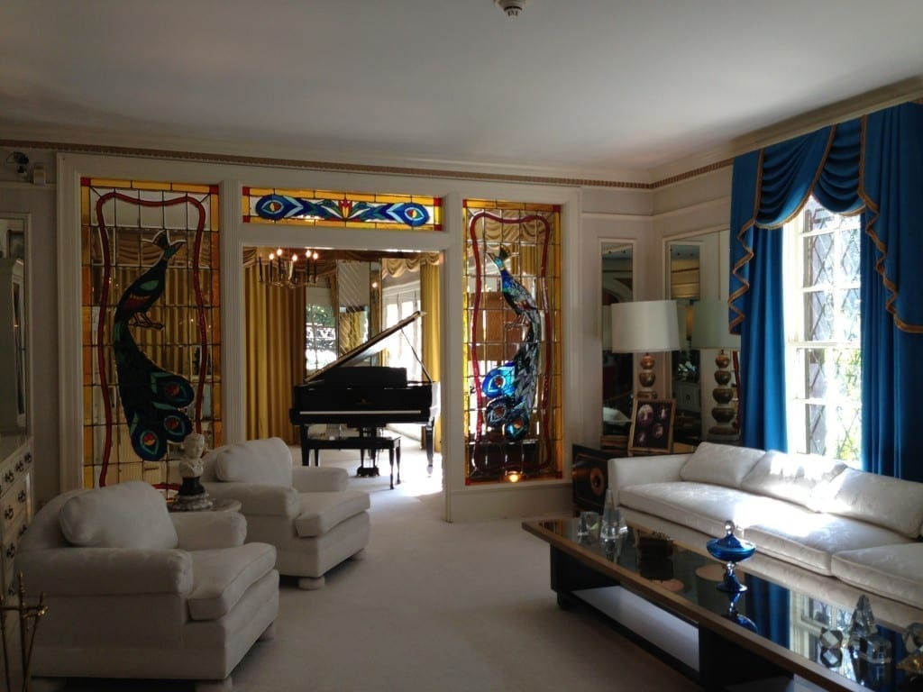 Graceland living room