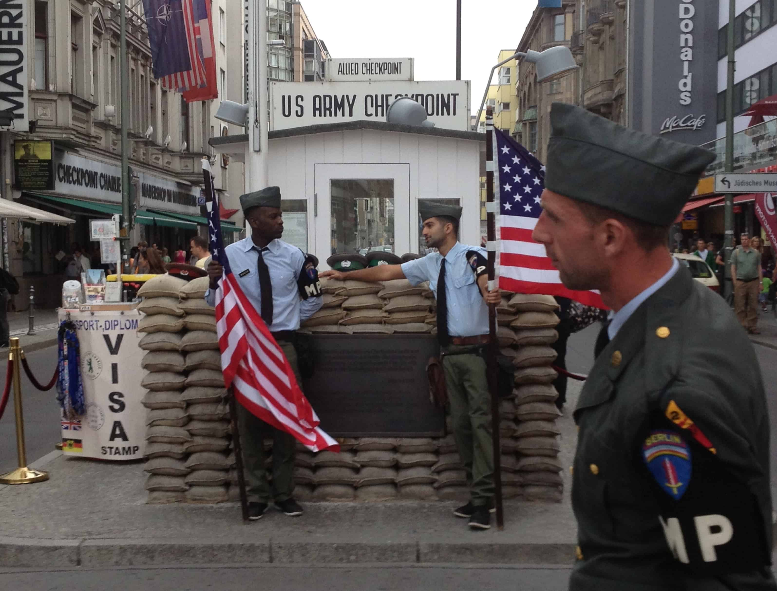 Reasons to Visit Berlin: Check Point Charlie is one of the top things to do in Berlin