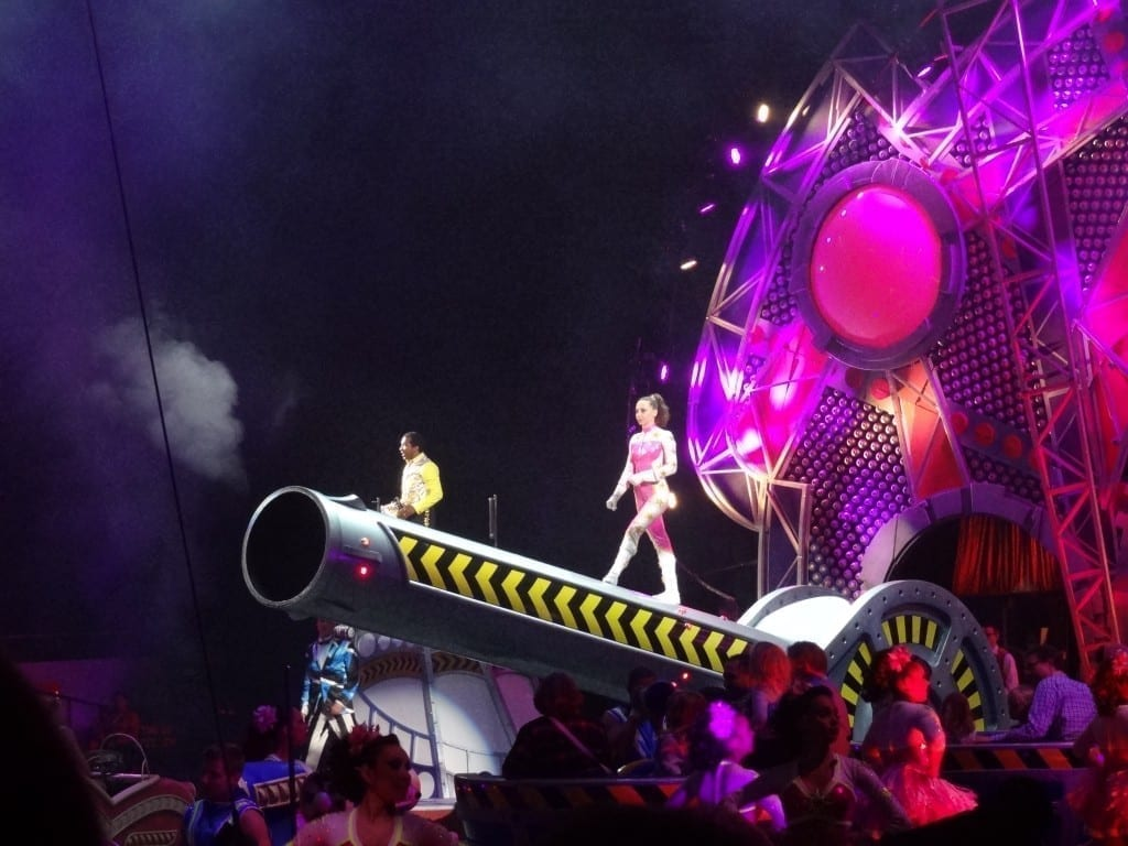 cannon at Ringling Bros. and Barnum & Bailey Circus