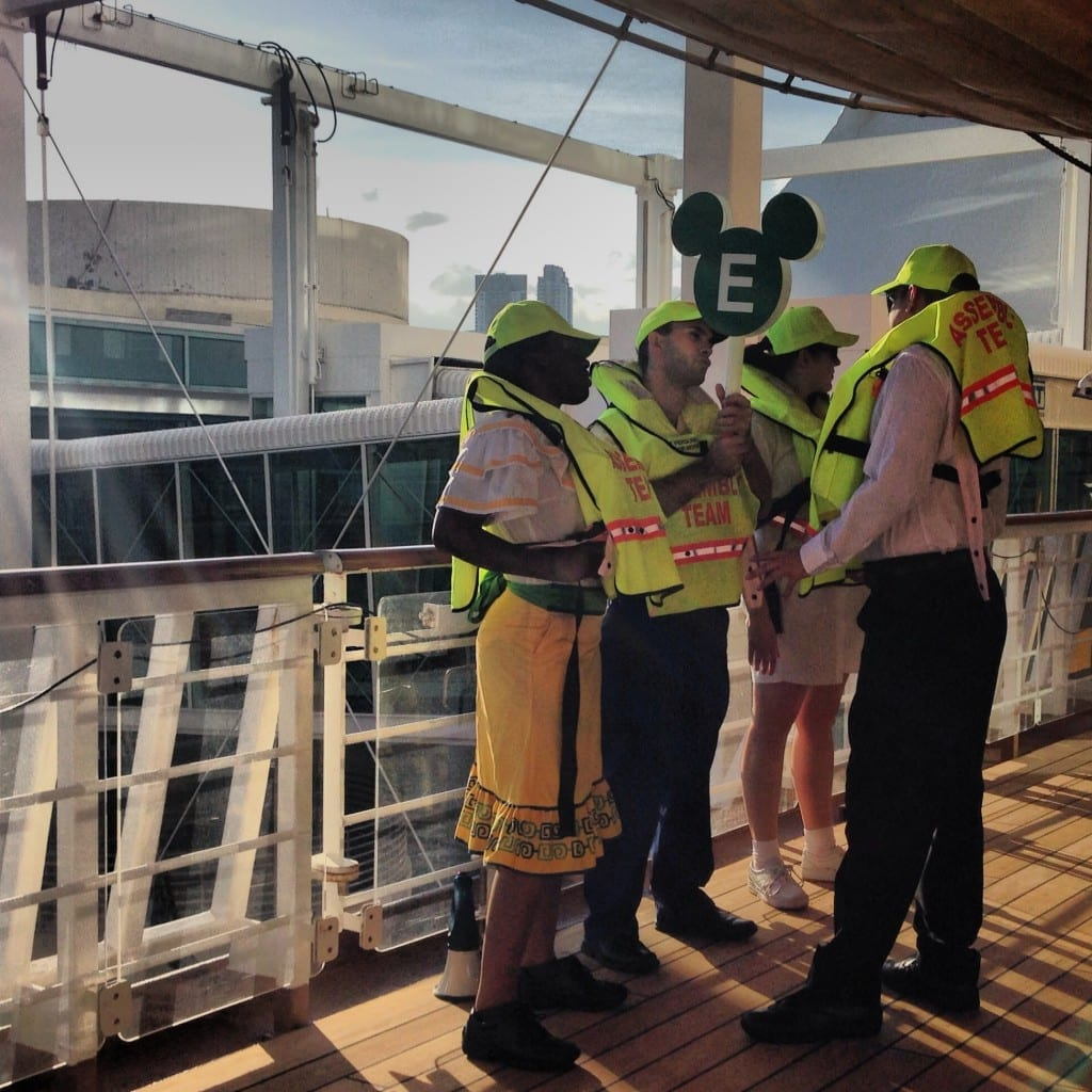 disney cruise tips safety drill
