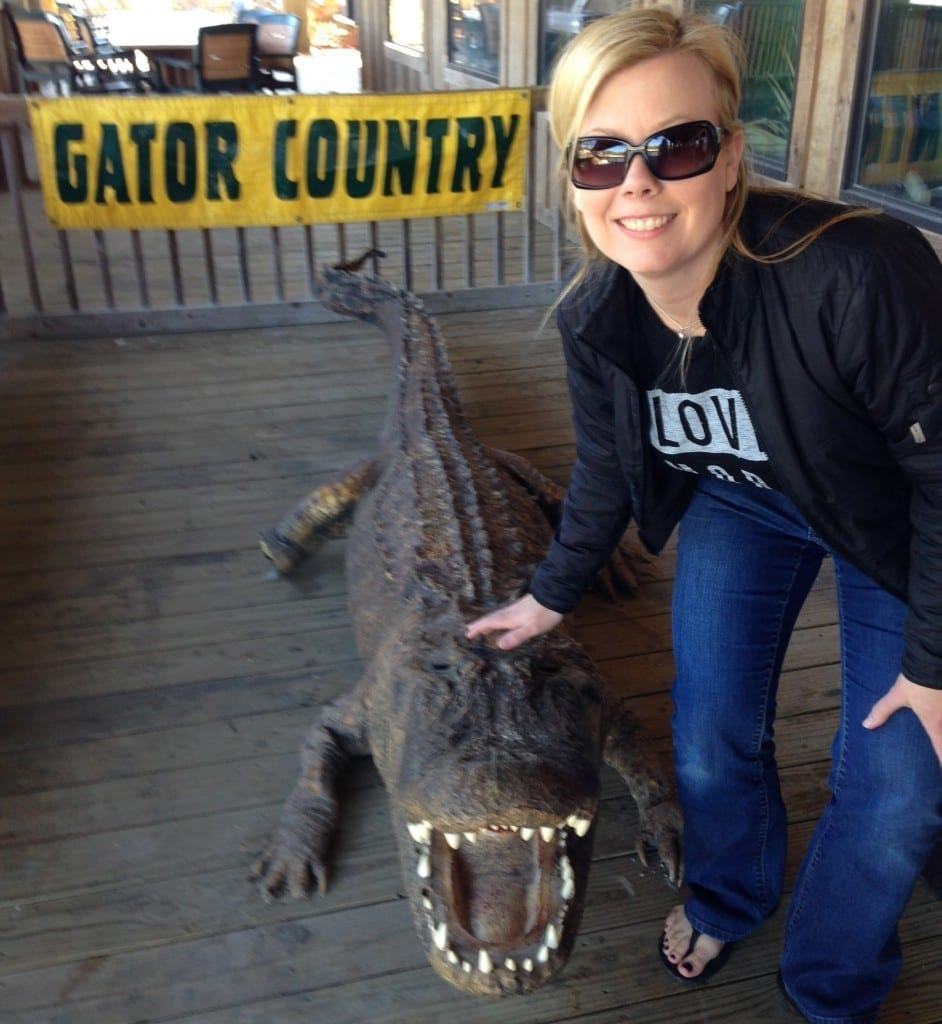 Gator Country in Beaumont TX, alligator and croc rescue. Great learning experience for kids - and adults. Click through to see why.