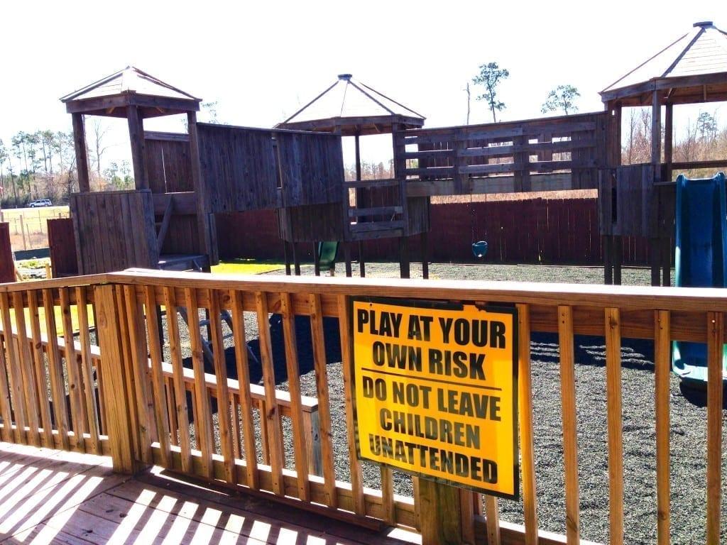 playground at Gator Country