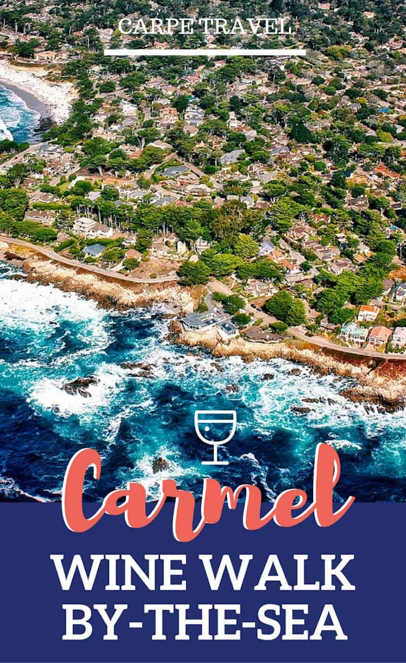 Twenty tasting rooms within 4-blocks? It's a wine lovers paradise. Actually, it's Carmel-by-the-Sea wineries. Here's your guide to sipping The Carmel Wine Walk by-the-Sea.