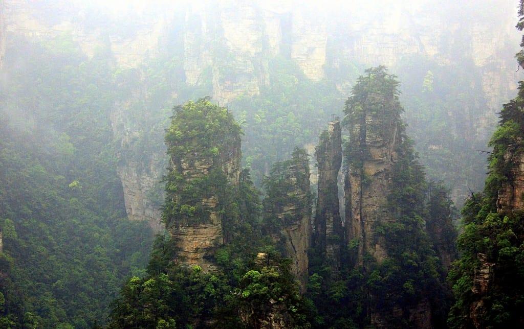 The Hallelujah Floating Mountains, Zhangjiajie, China (11)