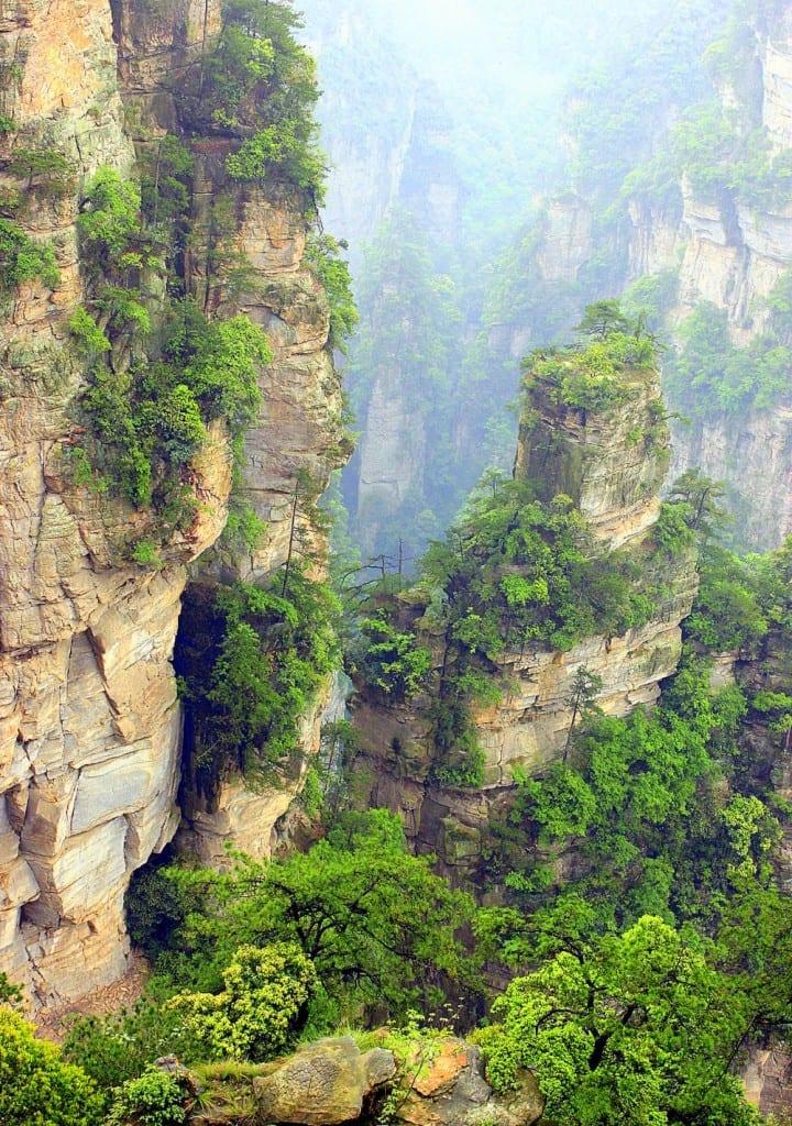 The Hallelujah Floating Mountains, Zhangjiajie, China (13)