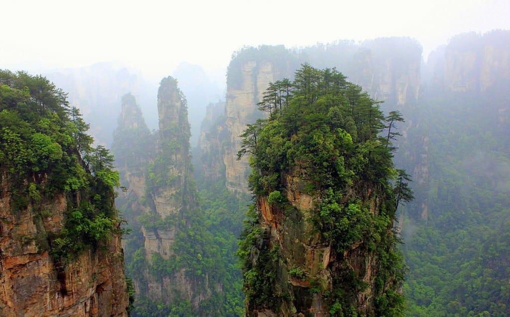 The Hallelujah Floating Mountains, Zhangjiajie, China (14)