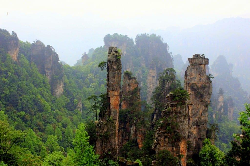 The Hallelujah Floating Mountains, Zhangjiajie, China (16)