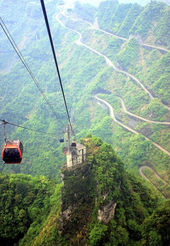 The Hallelujah Floating Mountains, Zhangjiajie, China (7)