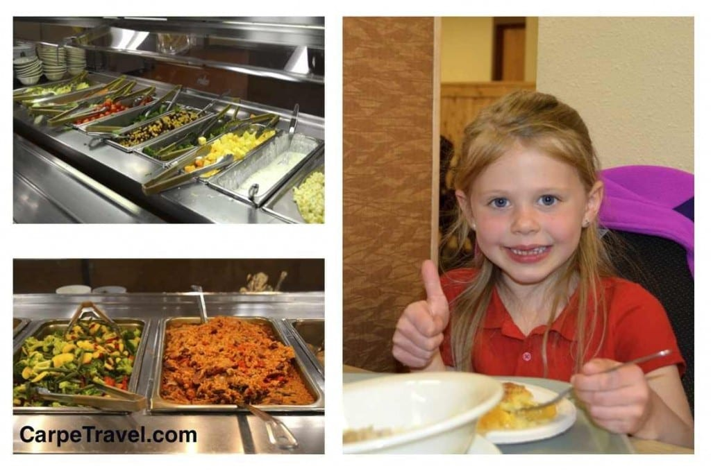 Dining options at YMCA of the Rockies Estes Park Center