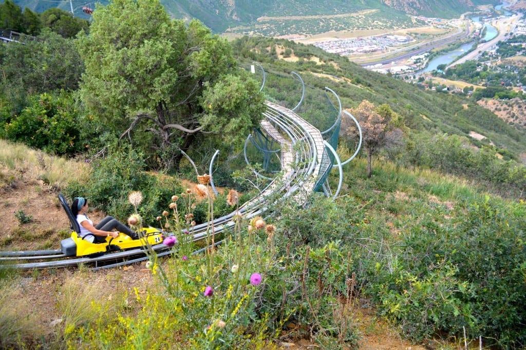 Alpine Coaster in Glenwood Springs