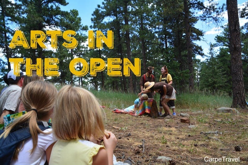 Arts in the Open - a great family event at