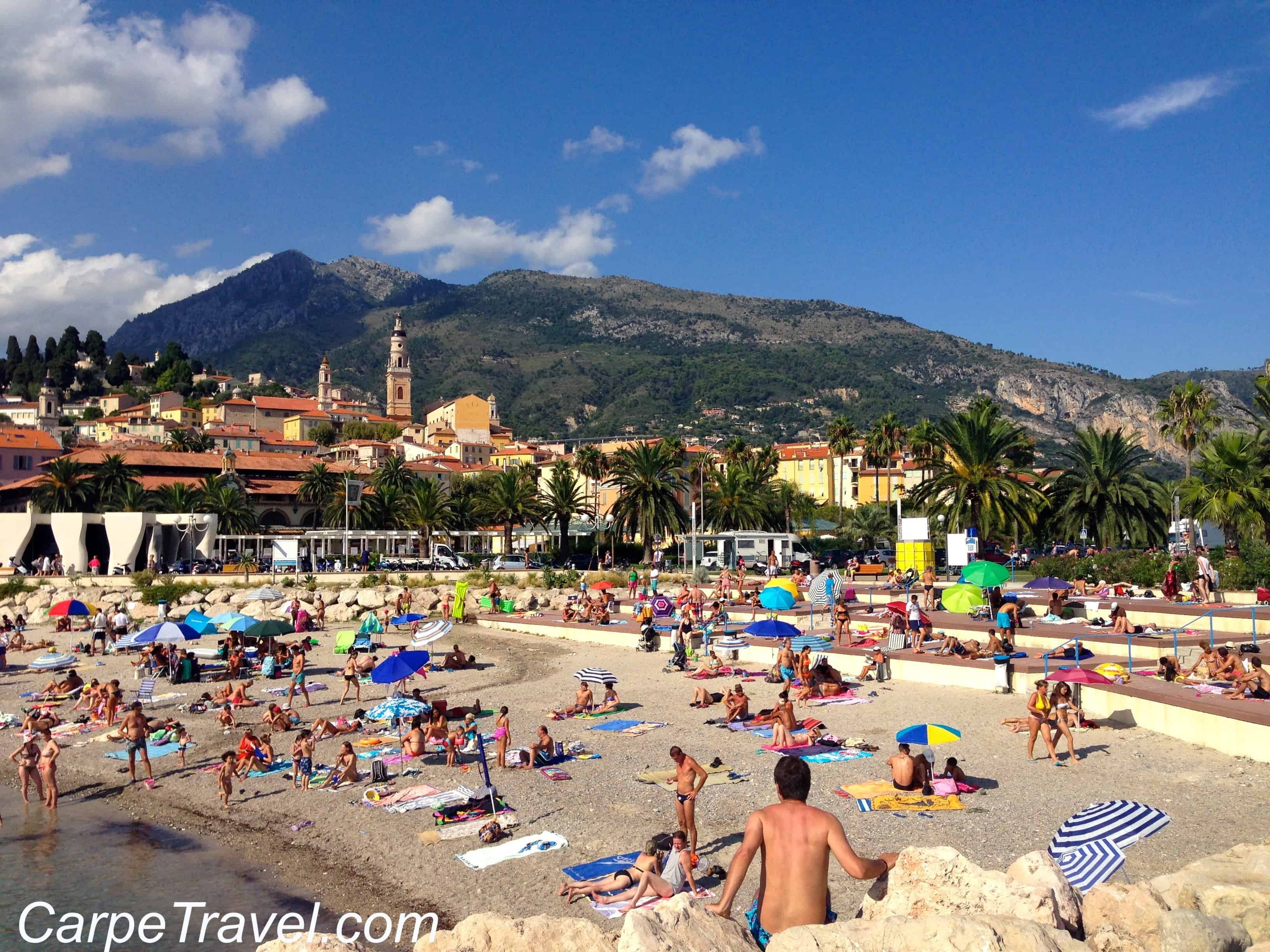 Menton France  city pictures gallery : Menton France Beaches Beaches in Menton
