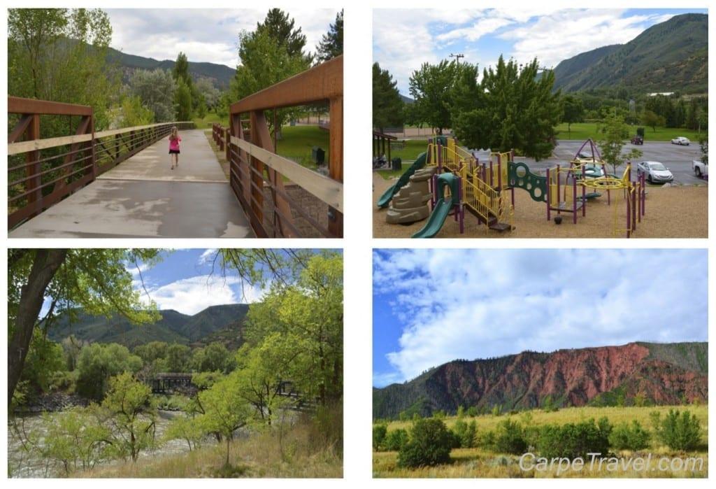 hotel glenwood springs walking trail