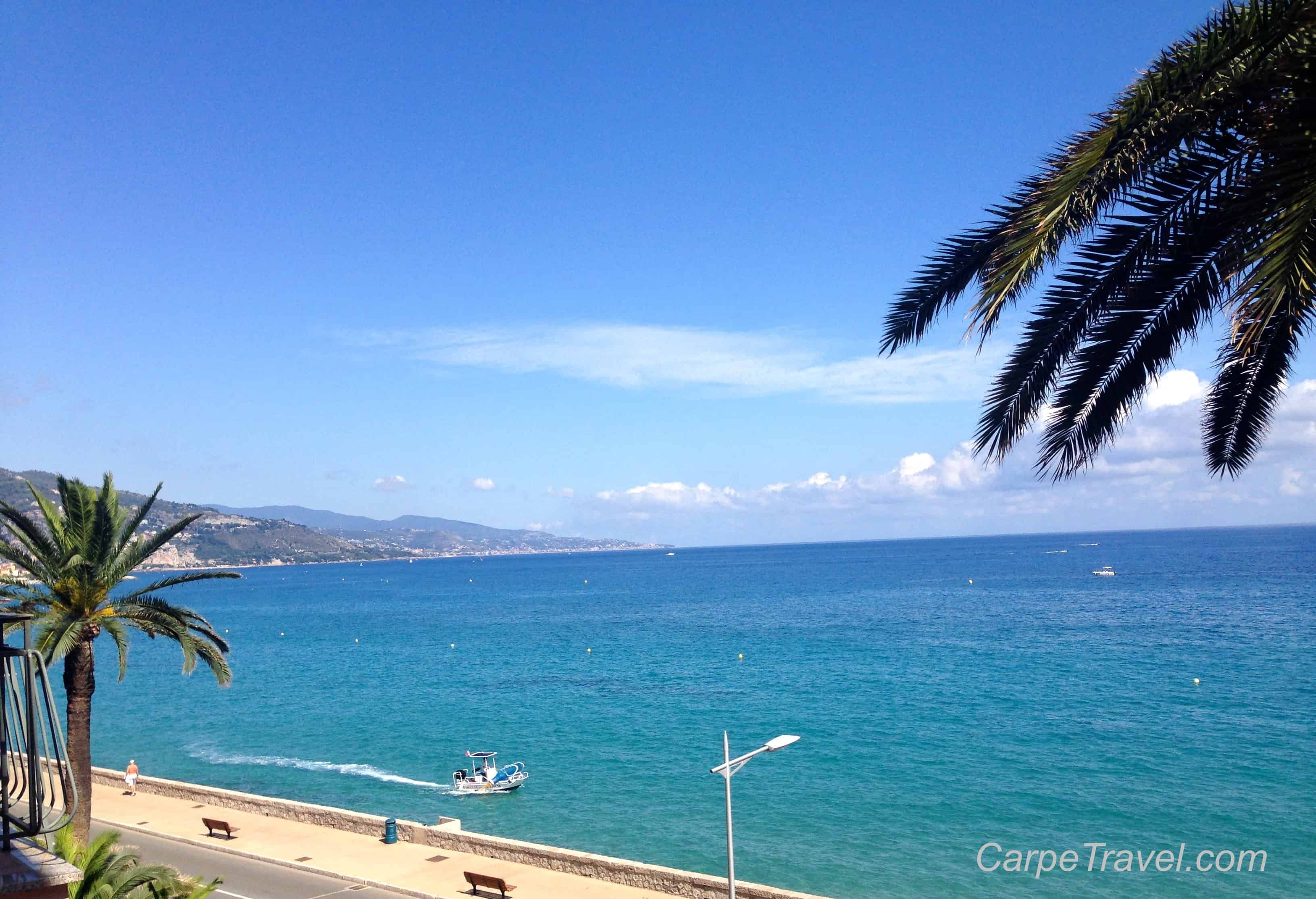 My American Express >> Check-in: Hotel Prince De Galles in Menton, France