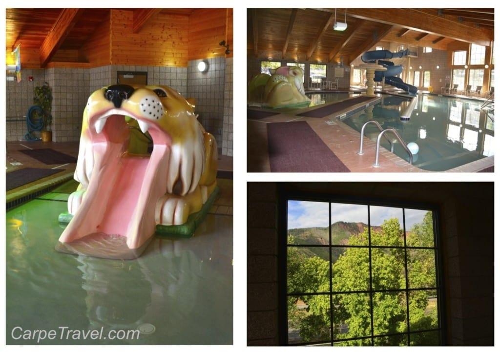 hotel glenwood springs indoor pool