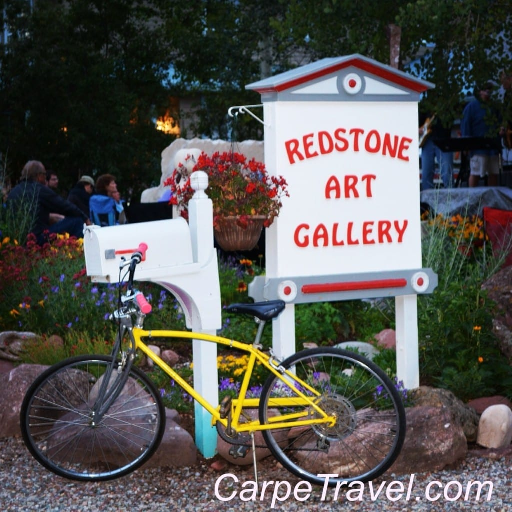 Redstone Art Gallery in Redstone Colorado