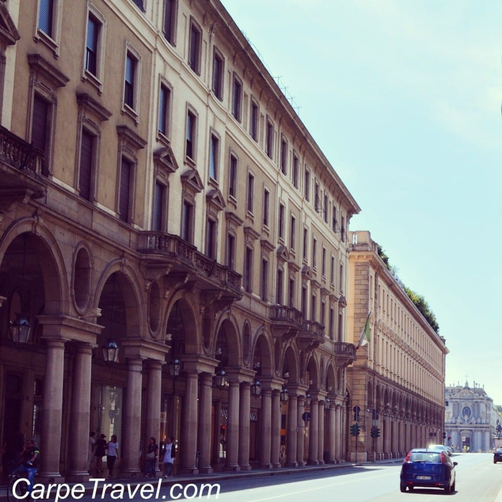 Things to do in Turin Shopping Via Roma