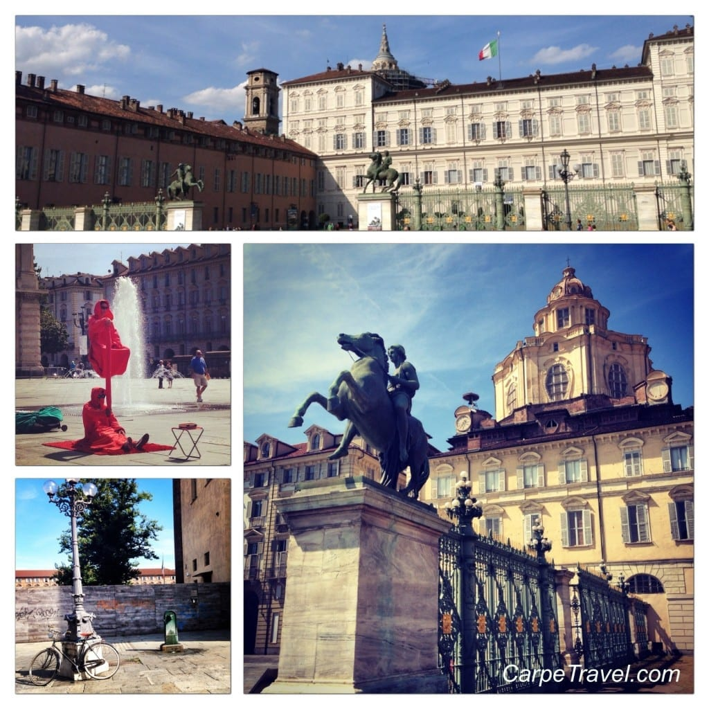 Things to do in Turin Piazza Castello