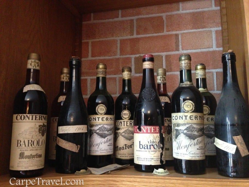 Barolo Wine is king in the Piedmont Wine Region