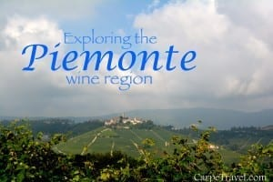 Exploring wines in the Piemonte wine region of Italy