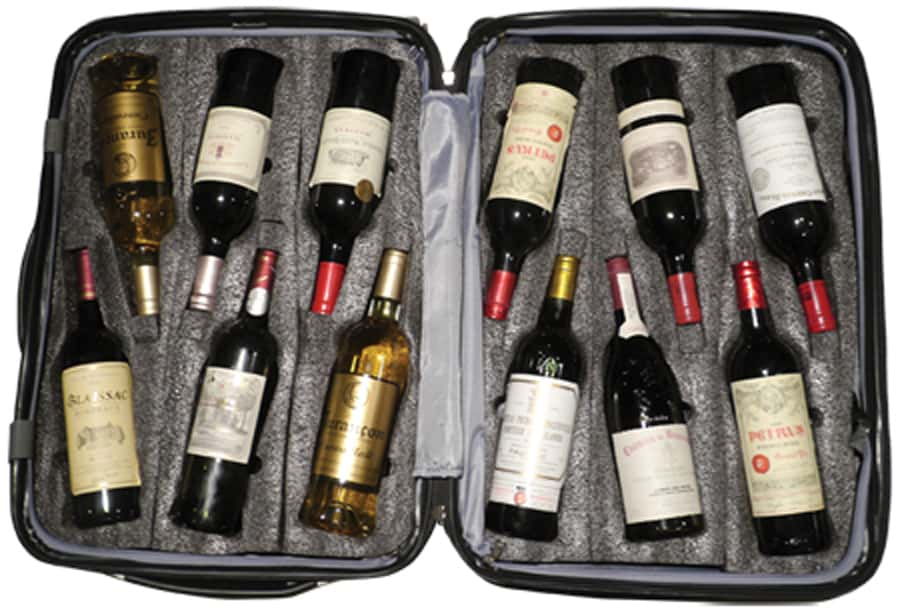 VinGardeValise wine suitscase