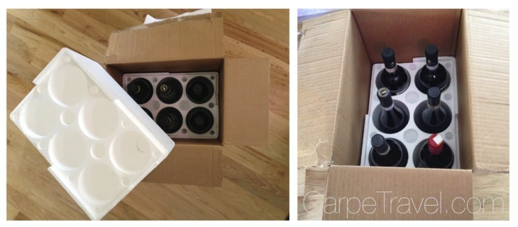 A Guide to Traveling Home with Wine. Tip one - use wineboxes to check as baggage.
