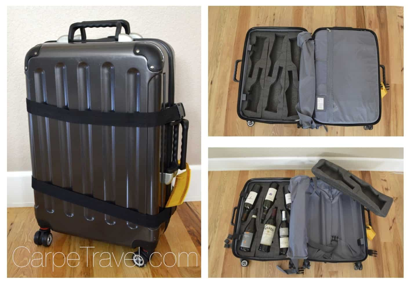 Wine Travel Bag Plastic