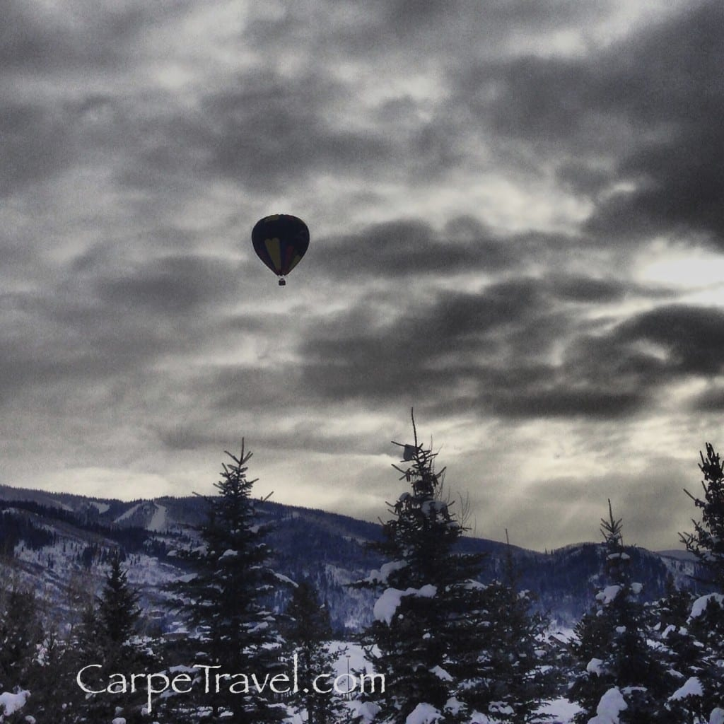 Fun things to do in Steamboat Springs - hot air ballooning