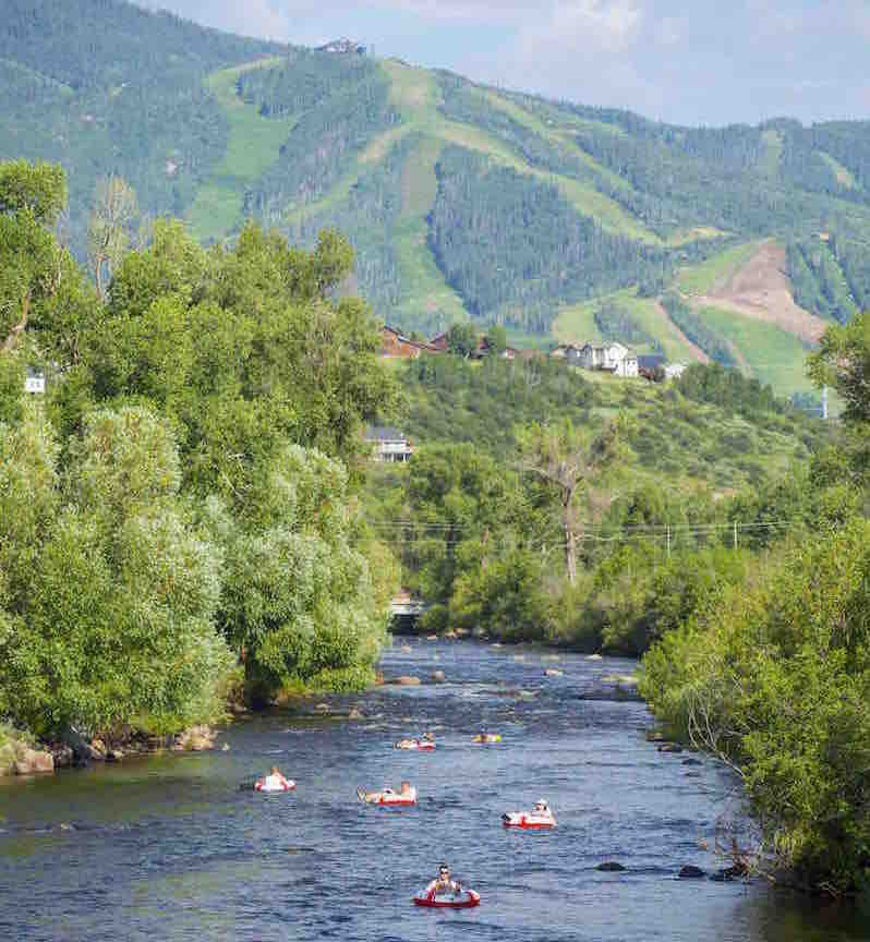 steamboat summer tubing
