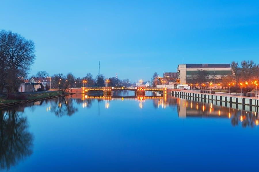 The Elblag Canal is one of the five strangest places to visit in Poland