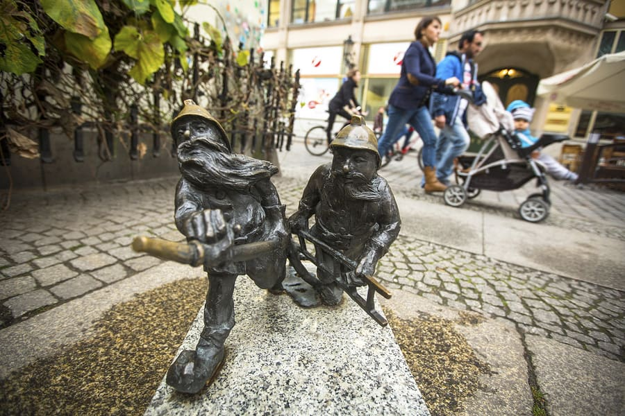 The Wroclaw Dwarfs - Five of the Strangest Places to Visit in Poland