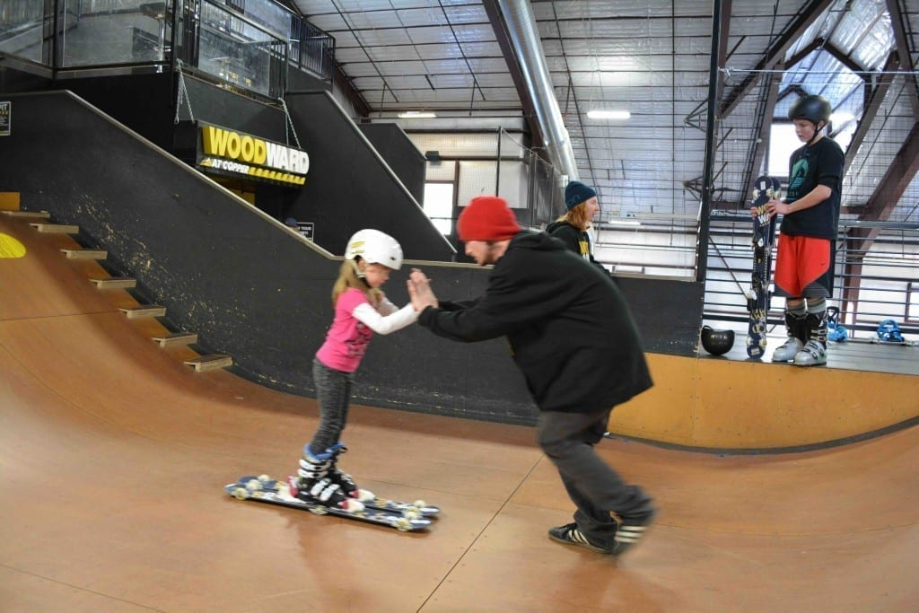 The coaches at Woodward at Copper are great with kids - and adults.