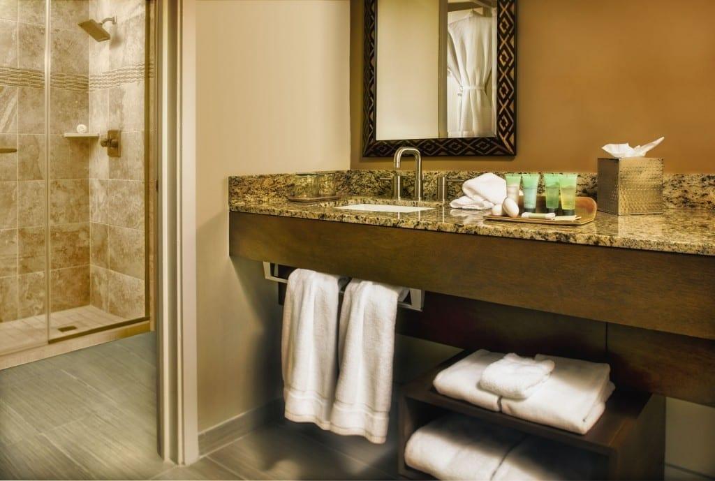 Bathrooms at The Wigwam Resort