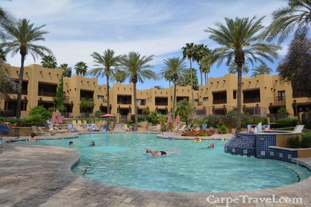The Oasis Pool at The Wigwam Resort is truly an oasis. Click through for the full review.