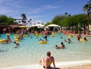 A stay at the Arizona Grand isn't complete without a visit to the Oasis water park, which was voted by the Travel Channel as one of the country's Top 10 Water Parks. Click through for a full review of the Arizona Grand.