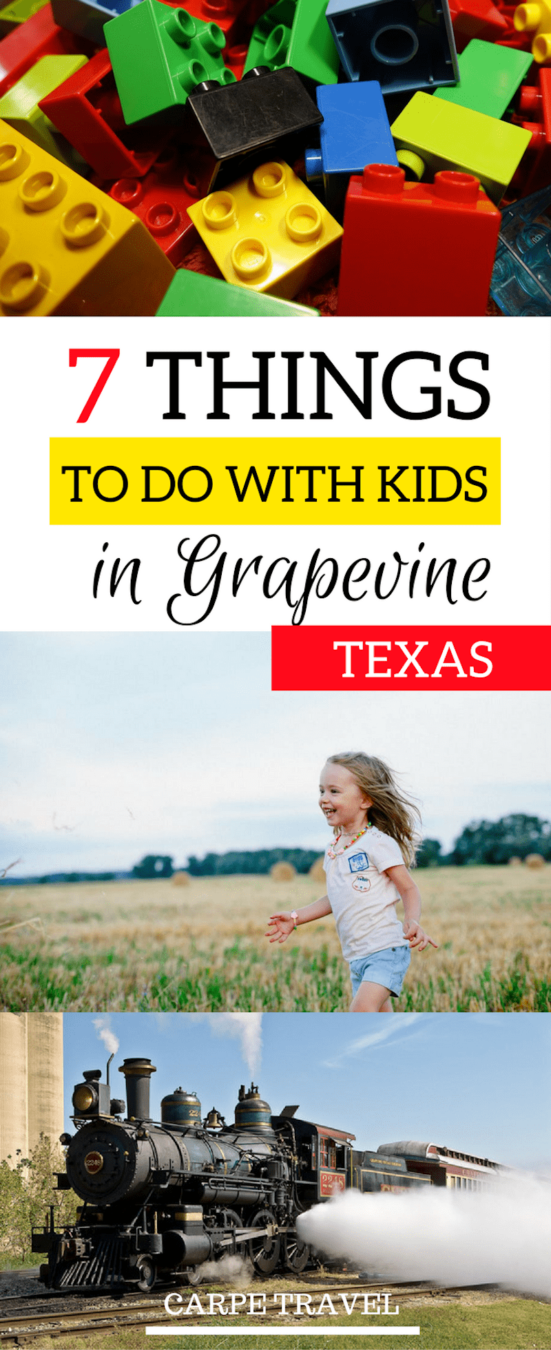 Looking for great thing to do in Grapevine with kids! Here are seven super fun activities.