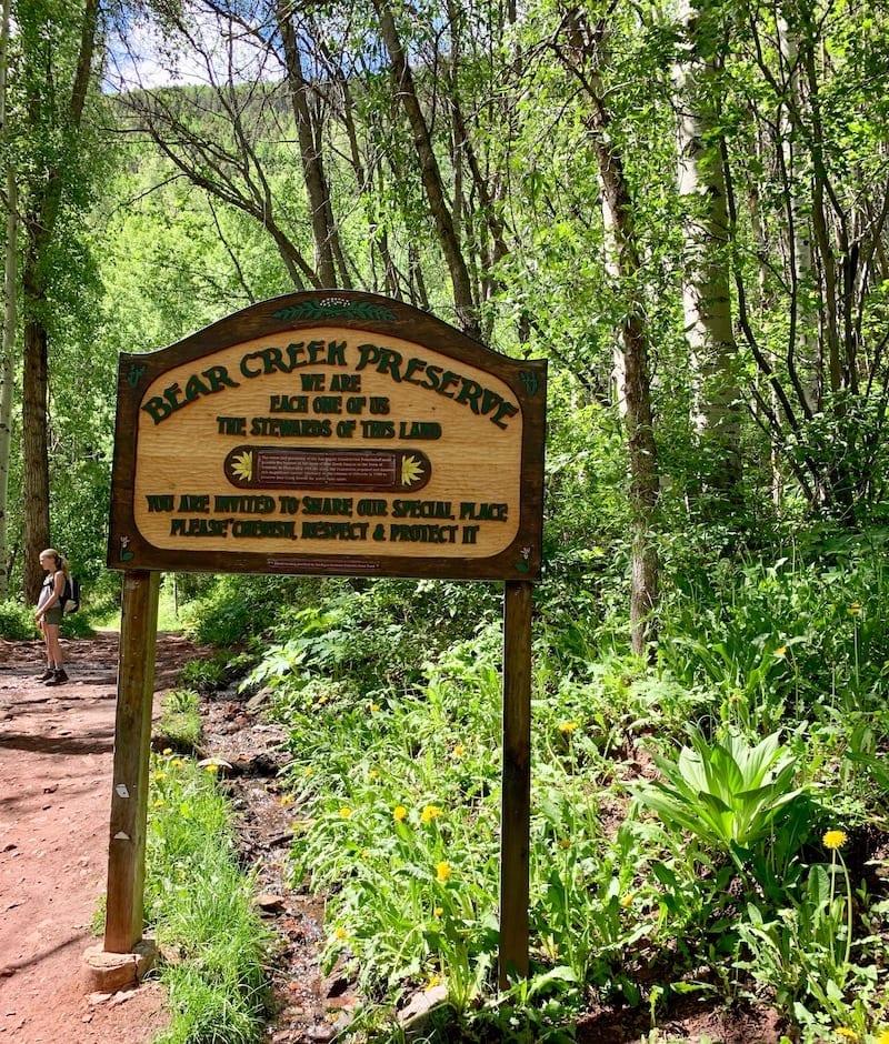 Summer hikes in Telluride - Bear Creek Trail