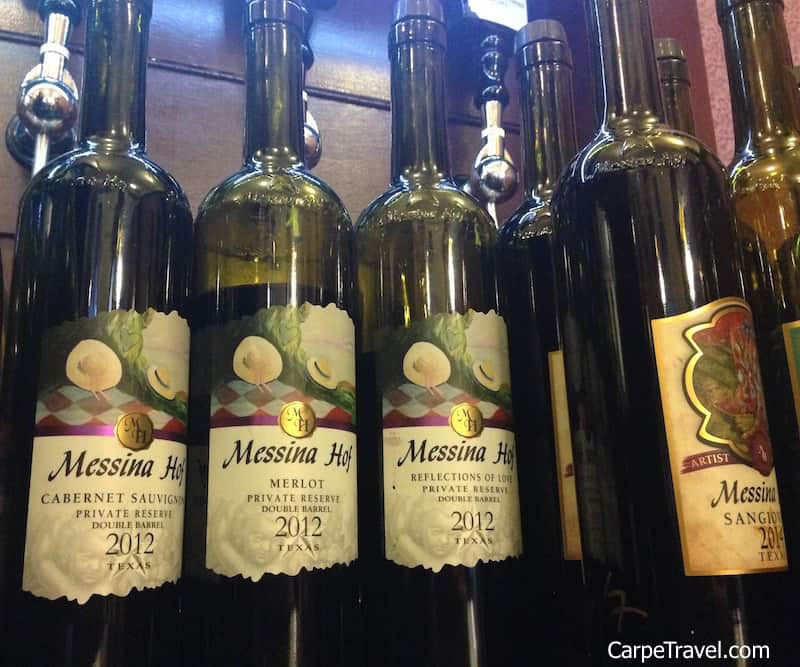 Texas Hill Country Wineries to Visit: Messina Hoff