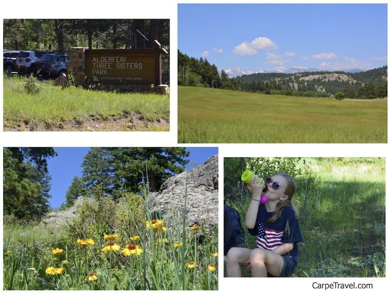 Six Kid Friendly Hikes Near Denver: Three Sisters hike in Evergreen