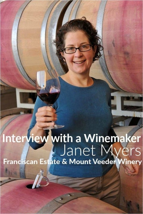 Interview with a Winemaker: Janet Myers, Director of Winemaking at Franciscan Estate in Napa Valley