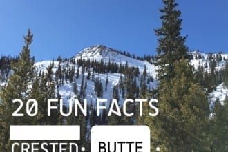 Fun Facts about Crested Butte Colorado