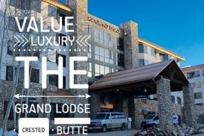 Check-In: The Grand Lodge in Crested Butte, Colorado