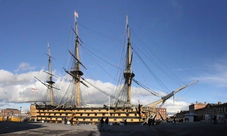 Things to do in 48 Hours in South East England: Portsmouth Historic Dockyard