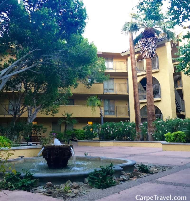 The Pointe Hilton Squaw Peak Resort in Phoenix has 27 beautifully landscaped acres.