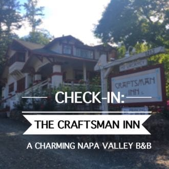 Calistoga bed and breakfast Craftsman Inn Review5