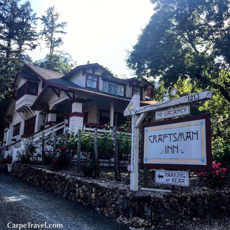 The Craftsman Bed Breakfast